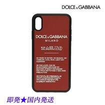DOLCE&GABBANA BP2513_AK436_89650 iPhone XS MAXケース赤(新品)
