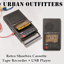 Urban Outfitters★レトロ カセットテープレコーダー USB Player