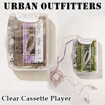 Urban Outfitters★クリア カセットプレーヤー ラジオ付き