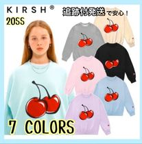 2020SS★新作【kirsh】BIG CHERRY SWEATSHIRT JS 全4色 追跡付