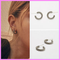 【Hei】vintage twisted hoop earring〜SHINee&GOT7着用ピアス