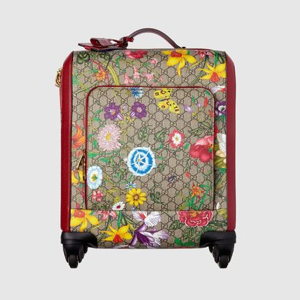 GUCCI スーツケース 【GUCCI】GG Flora carry-on red GG Supreme Flora(6)