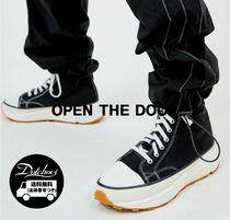 OPEN THE DOOR(オープンザドア) スニーカー OPEN THE DOOR platform canvas shoes (2 color) OH195 追跡付