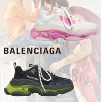 ●送料込●BALENCIAGA●TRIPLE S CLEAR SOLE スニーカー