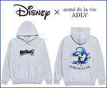 [DISNEY X アクメドラビ] PAINTS HOODIE MELANGE (EPIC MICKEY)