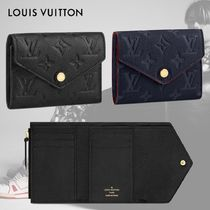 LOUIS VUITTON◆コンパクト 財布 ポルトフォイユ ヴィクトリーヌ