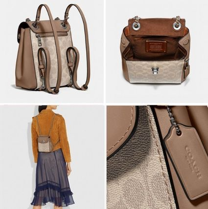 Coach バックパック・リュック Coach ◆ 69650 Parker convertible backpack 16 in signature(2)