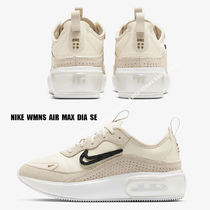 NIKE★WMNS AIR MAX DIA SE★LIGHT CREAM/BLACK/METALLIC GOLD