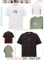 ★大人気★Fear Of God FG Logo T-shirt