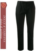 DOLCE&GABBANA   cropped tailored trousers