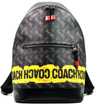 COACH WEST SLIM BACKPACK WITH HORSE AND CARRIAGE PRINT