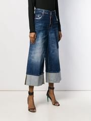 D SQUARED2 デニム・ジーパン DSQUARED2 DSQUARED wide leg panelled jeans(3)