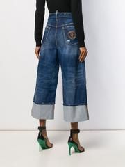 D SQUARED2 デニム・ジーパン DSQUARED2 DSQUARED wide leg panelled jeans(4)