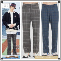 日本未入荷ROMANTIC CROWNのFRIDAY CHECK DRESS PANTS 全2色
