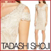 【SALE】タダシ ショージ Embroidered Cold Shoulder ワンピース