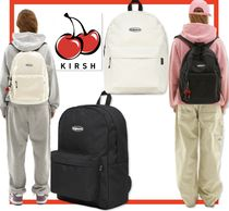 ☆韓国の人気☆【KIRSH】☆CIRCLE LOGO BACKPACK JS☆2色☆