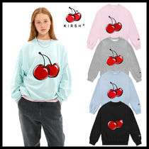 人気【KIRSH】20SS★BIG CHERRY SWEATSHIRT JS★日本未入荷