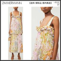 Zimmermann☆シルクドレス☆Super Eight floral-print cotton an