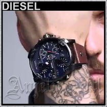★ベストセラー★DIESEL Mr Daddy 2.0 Blue Chrono Mens Watch