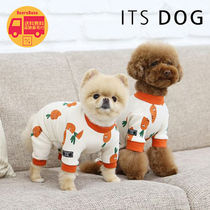 ITS DOG CARROT COTTON ALLINONE BBN268 追跡付