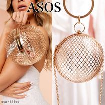 ◆NEW◆ASOS◆ Luxe cage sphere clutch パーティーバッグ