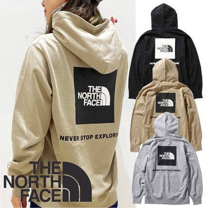 【THE NORTH FACE】☆M's Back Square Logo Hoodie☆国内発
