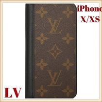 Louis Vitton・iPhoneケース・手帳型・ フォリオ・X/XS