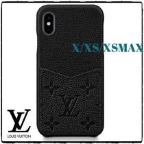 大人気!【Louis Vuitton】IPHONE X/XS/XSMAX 黒色 バンパー