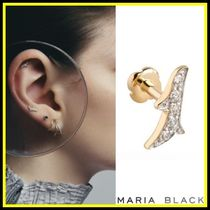 送料関税込☆Maria Black☆BRANCHE DIAMOND LABRET ピアス