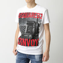 DSQUARED2 半袖 Tシャツ S74GD0647 S22427 Truck Convoy