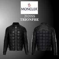 20SS新作★MONCLER★TRIONPHE バイカージャケット