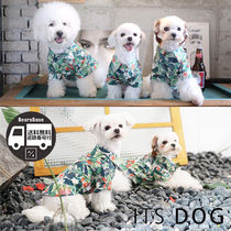 ITS DOG ALOHA HAWAIIAN SHITRT BBN285 追跡付