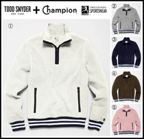 ☆Todd Snyder + Champion☆ LIGHTWEIGHT POLARTEC HALF ZIP