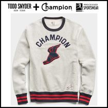 ☆Todd Snyder + Champion☆ WINGED FOOT REVERSE WEAVE SWEAT