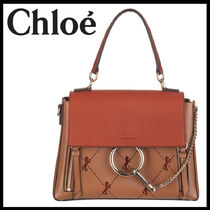SS20◆Chloe(クロエ)◆BROWN FAYE DAY BAG WITH HORSE ENGRAVING