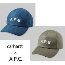 【carhartt ×A.P.C.】☆コラボ☆Casquette Cameronキャップ/2色