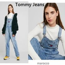 ★ Tommy Jeans ★ フラグ付き・デニムサロペット