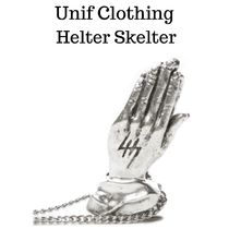 UNIF Clothing(ユニフ) ネックレス・チョーカー UNIF★HELTER SKELTER 祈りモチーフ ネックレス