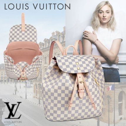 Louis Vuitton バックパック・リュック ☆安心の国内発送☆ LV スペロン ダミエ・アズール 人気♪