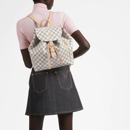 Louis Vuitton バックパック・リュック ☆安心の国内発送☆ LV スペロン ダミエ・アズール 人気♪(3)