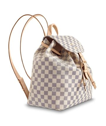 Louis Vuitton バックパック・リュック ☆安心の国内発送☆ LV スペロン ダミエ・アズール 人気♪(4)