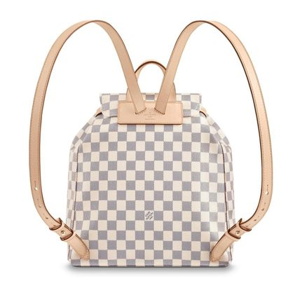 Louis Vuitton バックパック・リュック ☆安心の国内発送☆ LV スペロン ダミエ・アズール 人気♪(7)
