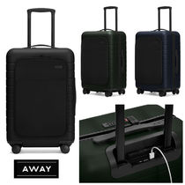 AWAY ポケット付ちょっと大きめ機内持ち込みTHE BIGGER CARRY-ON
