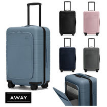 AWAY★レザーポケット付 THE BIGGER CARRY-ON★46L 機内持ち込み