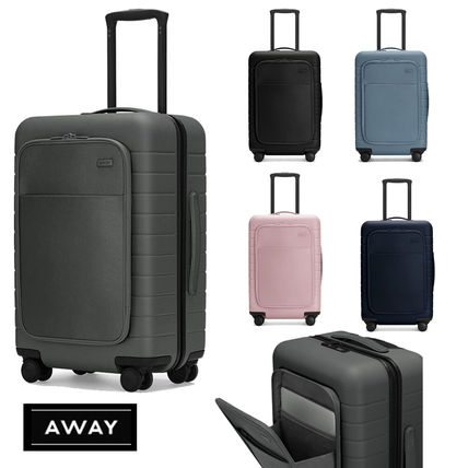 AWAY★ナイロンポケット付♪The Carry-On w Pocket★機内持込み