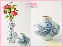 最安値保証*関送込【Anthro】Lisa Ringwood Flora Ceramic Vase