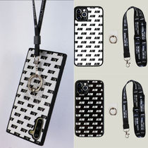 ★AIGHT★Dalmatian ipone Case+Neck strap+Smart Ring/2色