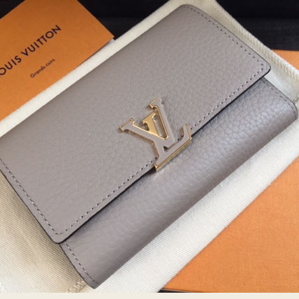 LV◆ COMPACT CAPUCINES GALET◆ (Louis Vuitton/折りたたみ財布) 50910576