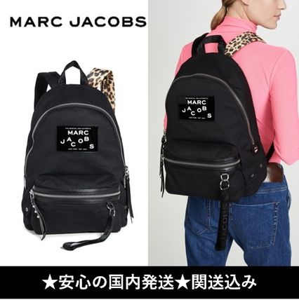 MARC JACOBS バックパック・リュック 【安心の国内発】◆The Marc Jacobs◆ロゴ入り 大容量 リュック