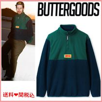 ☆関税送料込☆Butter Goods FTC FLAG 1/4 ZIP PULLOVER